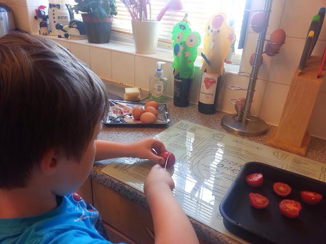 Slicing Tomatoes