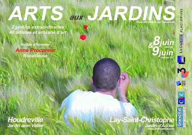 Arts aux Jardins d'Adoué et de Jean Vallée (8-9 juin 2019)