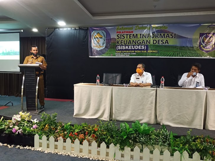 Targetkan Desa Mandiri dan Percepatan Dana Desa, Ratusan Operator Siskaudes di Kerinci Dilatih