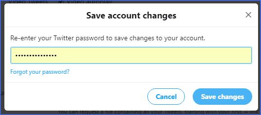 Change Your Twitter Username on desktop - www.ceofix.net