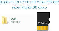 Recover Deleted DCIM Folder