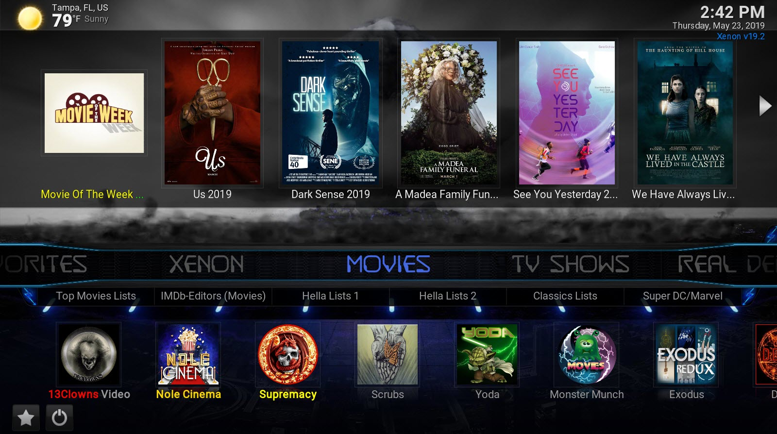 BEST KODI 18 2 BUILD EVER!! MAY 2019 🔥 XENON BUILD 🔥 FROM