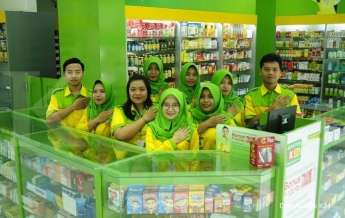 Lowongan Kerja Semarang Apotek K24 INDONESIA sedang membuka kesempatan kerja untuk posisi BAGIAN GUDANG dan kualifikasi sebagai berikut