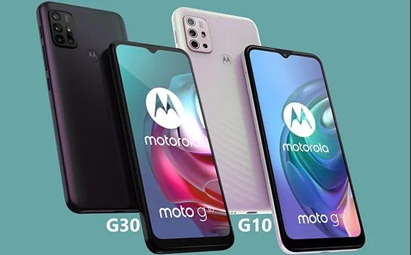 Motorola annonce les Moto G30 et Moto G10
