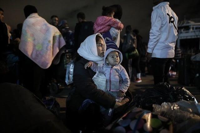 Συνεχίζονται οι προσφυγικές ροές στα νησιά του Αιγαίου