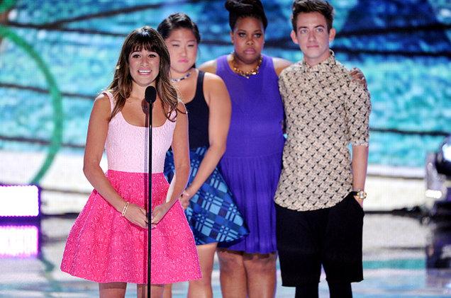 Lea Michele, Glee