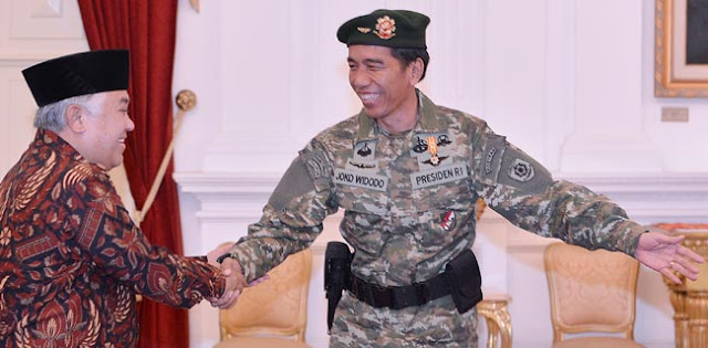 Singgung Tawaran Cawapres Jokowi, Din Syamsuddin: Saya Lebih Tepat Jadi Presiden