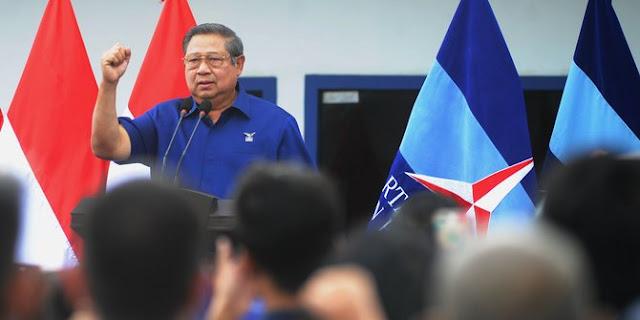 Akun twitter dipalsukan, SBY curhat diadu domba dengan Jokowi dan Megawati