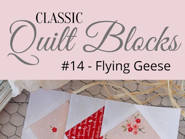 "{Classic Quilt Blocks} Flying Geese - A Tutorial <img src=""https://pic.sopili.net/pub/emoji/twitter/2/72x72/2702.png"" width=20 height=20>"