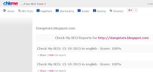 Cara Membuat Blog 100 Persen SEO di CHKME.com