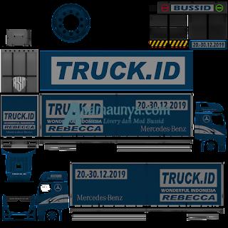 Download Livery Truck Actors T Biru Roda 10