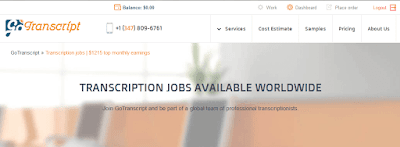 GoTranscript Review with Payoneer