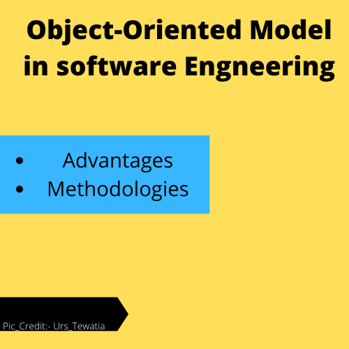 object oriented life cycle model in software engineering