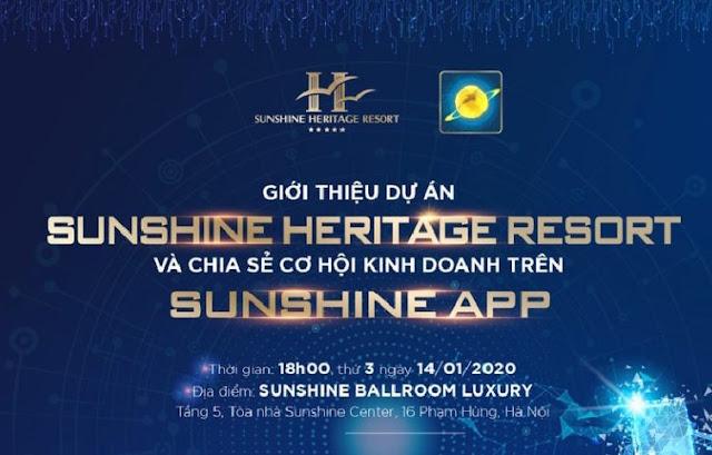 Dự án Sunshine Heritage Resort Sơn Tây Hà Nội - chung cư Heritage Resort