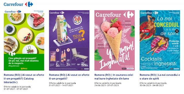 CARREFOUR Cataloage - Brosuri 01-07.07 2021 →  Reducere la produsele preferate
