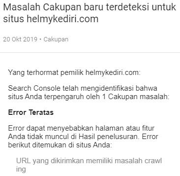 Masalah teknis blogger