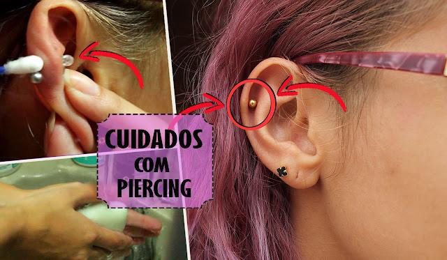 4 dicas para cuidar do seu Piercing sem Queloide