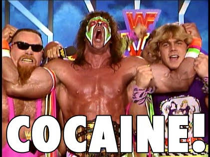 Ultimate Warrior on cocaine
