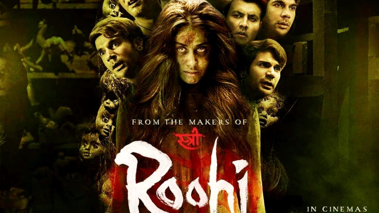 Movie Update: Roohi posters Janhvi Kapoor first look in spooky avatar out, haunts grooms Rajkummar Rao, Varun Sharma