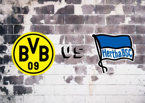 Borussia Dortmund vs Hertha BSC  Resumen y Partido Completo