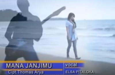 Lirik Lagu Pof Malaysia Elsa Pitaloka  - Mana Janjimu