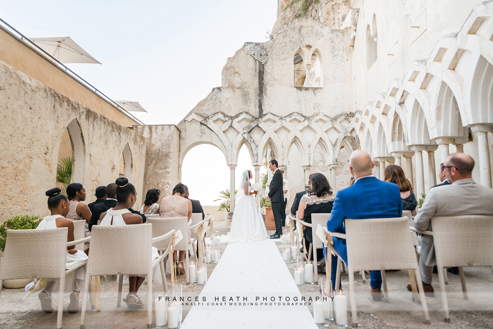 Wedding at NH Hotel Convento in Amalfi Italy