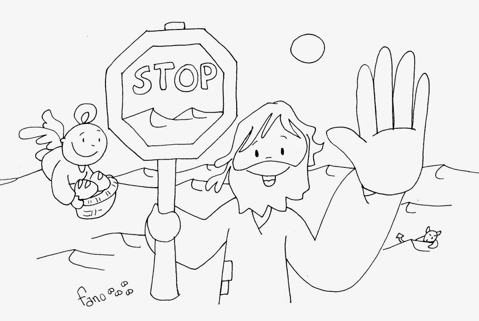 Las Misiones Y Los Niños Dibujos Para Colorear De Niños: La Catequesis (El Blog De Sandra): Nuevo Dibujo De Fano