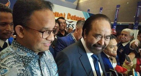 Surya Paloh: Terserah Bung Anies Kalau Dia Yakin Mau Maju 2024