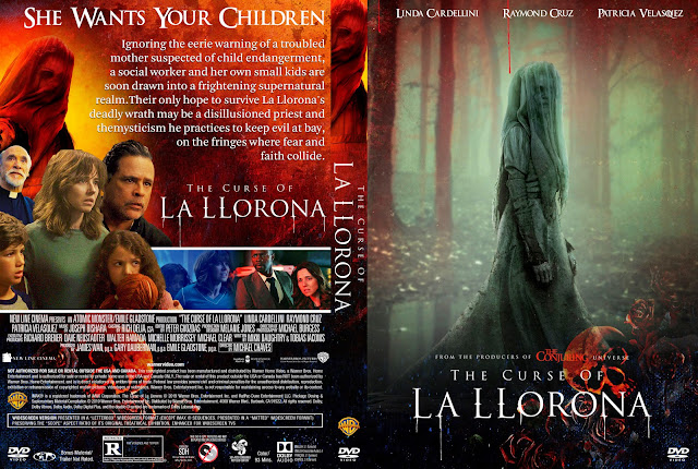 The Curse of La Llorona DVD Cover