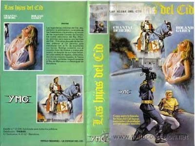 Carátula VHS: Las hijas del Cid (1962) La spada del Cid / Descargar / Película