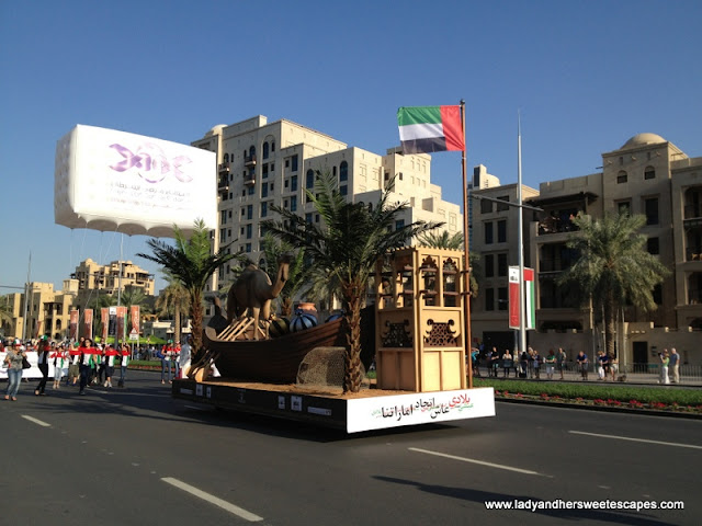 UAE Float on NAtional Day