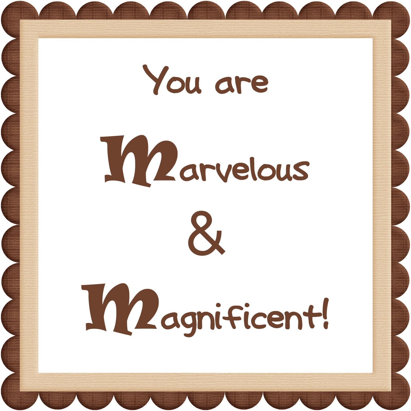 Free Thank You Quotes And Sayings: We Love Being Moms!: Candy Bar Printables