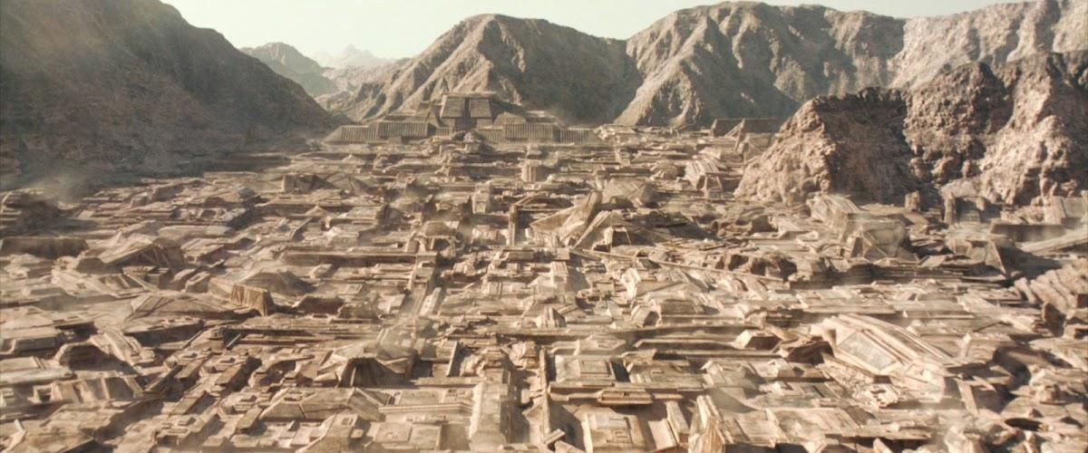Arrakeen in Dune (2021) movie