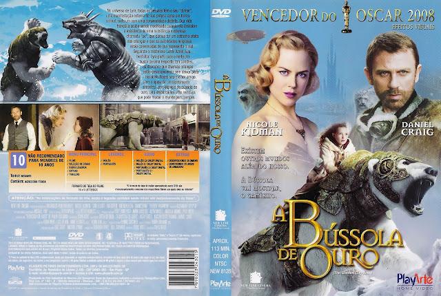 Capa DVD A Bússola de Ouro