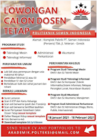Open Recruitment at Politeknik Semen Indonesia Gresik Januari 2021