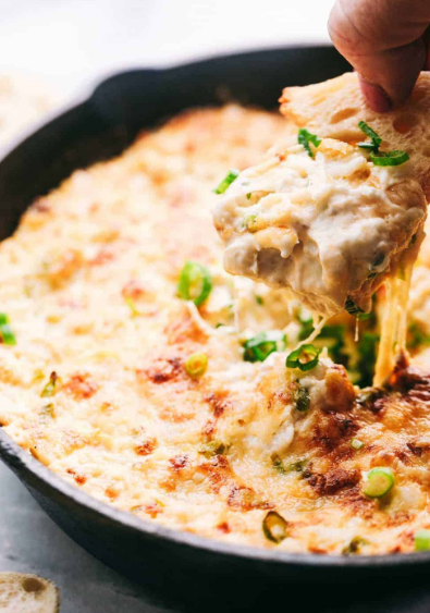 INSANELY DELICIOUS HOT CRAB DIP