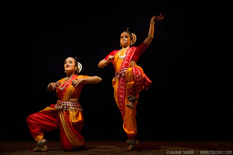 """Hanuman Chalisa"" presented in Odissi Dance style by  Jaya Mehata and Swati Chattopadhyay"