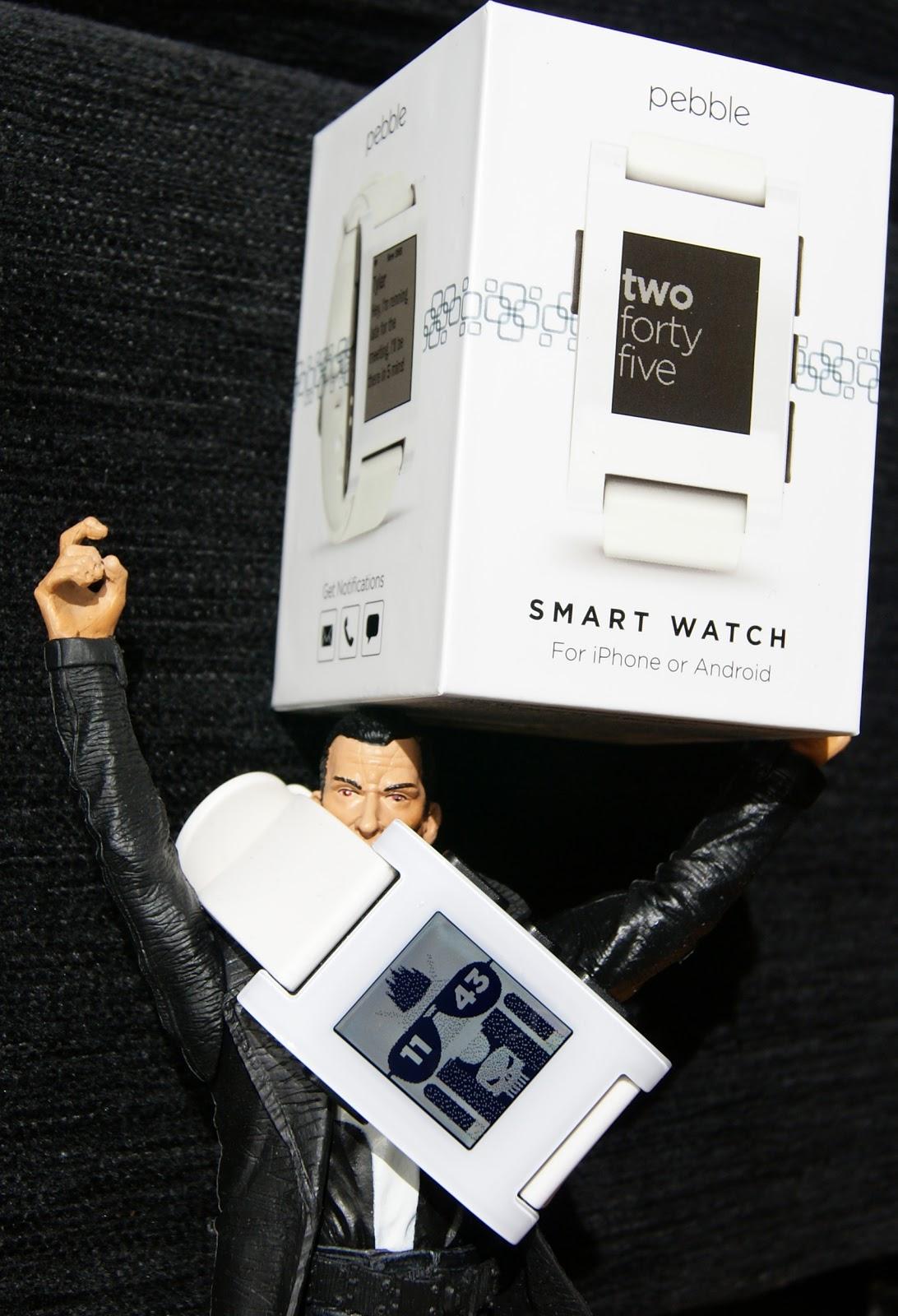 Pebble, el único reloj inteligente