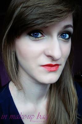 makijaż świąteczno sylwestrowy dla niebieskookich