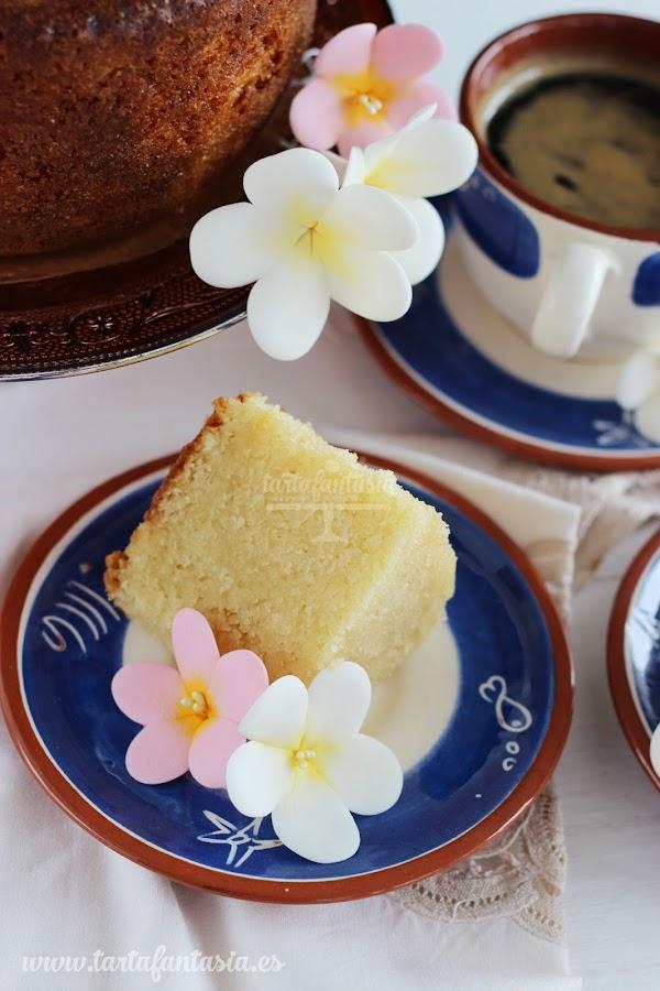 Receta para Bizcocho para tartas esculpidas o 3D