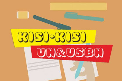 Download Kisi-Kisi UN & USBN Matematika Tahun 2020 Jenjang SMA/MA/SMK
