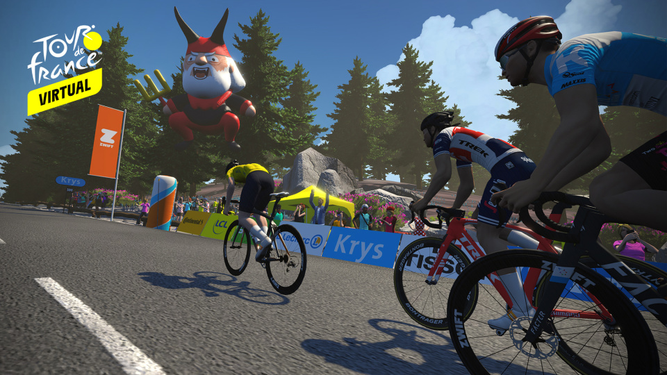Coronavirus, ecco il Tour del France virtuale | Video