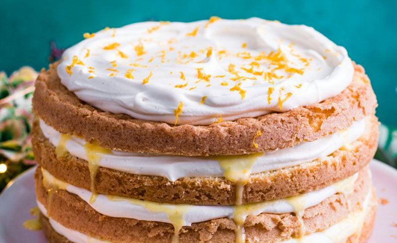 Clementine layer cake