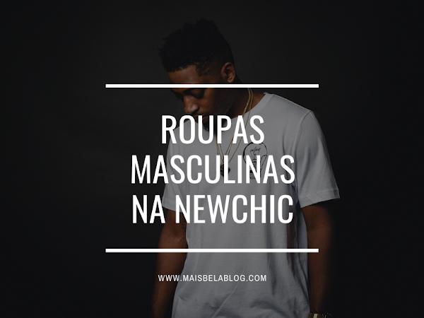 Roupas masculinas na Newchic