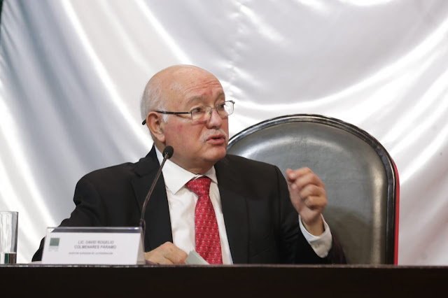 La Auditoría Superior de la Federación no confronta ni mucho menos enfrenta a nadie: David Colmenares