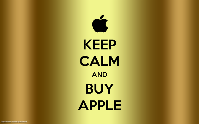 Keep calm and buy Apple wallpaper