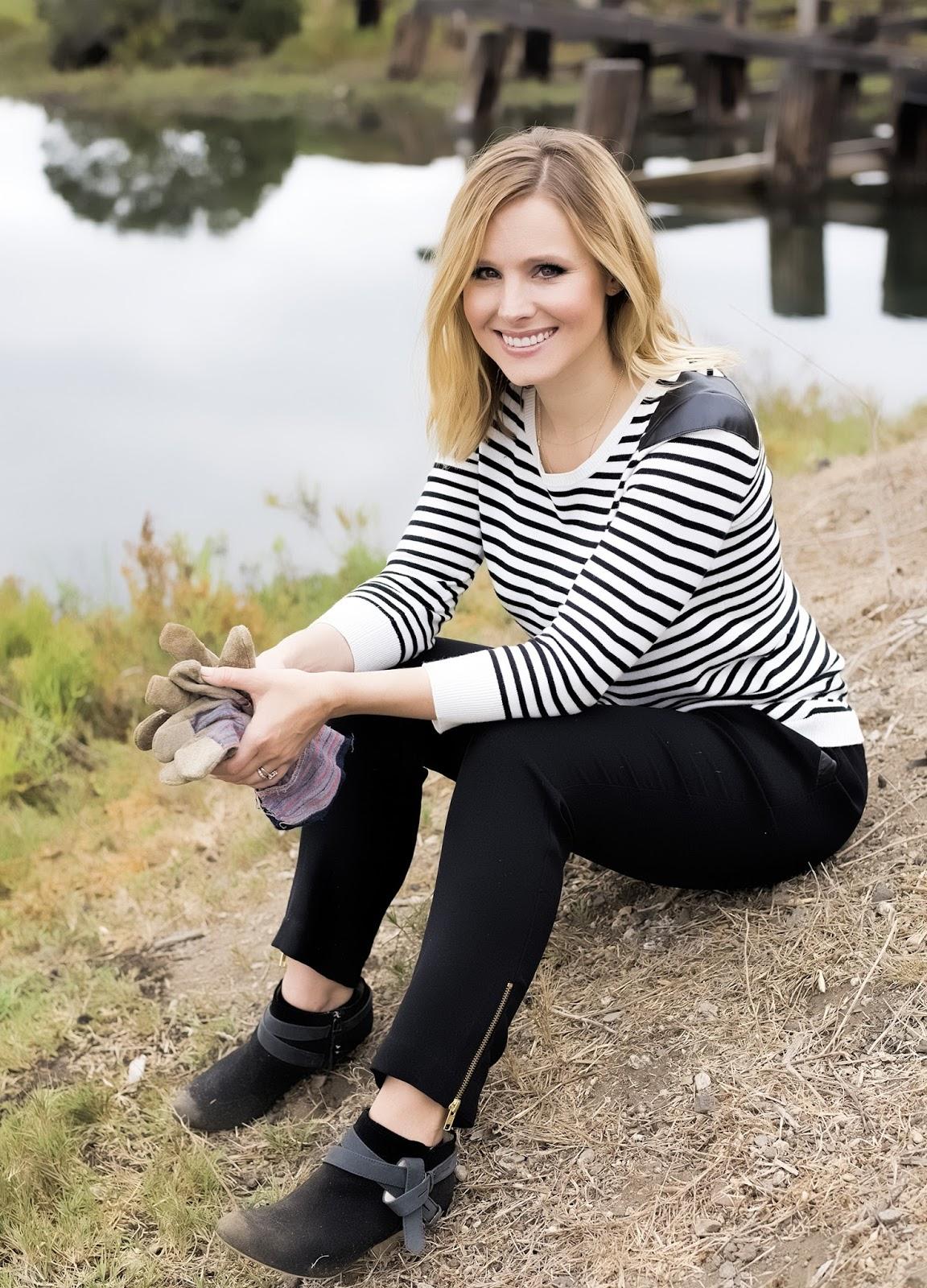 Kristen Bell on Craig Ferguson - Sitcoms Online Photo