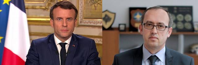 Macron writes to Hoti, 'The Kosovo-Serbia dialogue will resume in Paris'