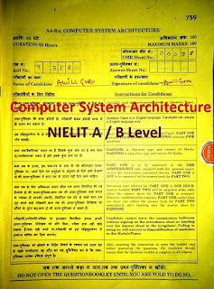 Download Computer System Architecture Question Paper