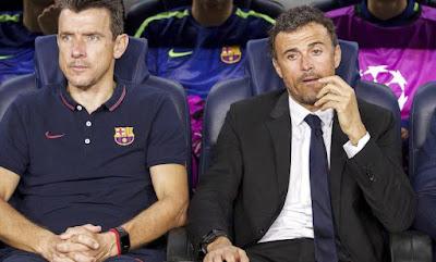 إنريكي يحسم الجدل حول عودته لتدريب برشلونة
